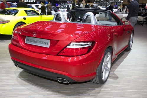 2012 Mercedes-Benz SLK350 - Geneva Auto Show featured image large thumb1