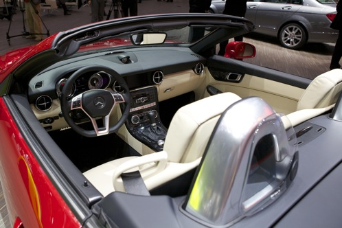 2012 Mercedes-Benz SLK350 - Geneva Auto Show featured image large thumb2