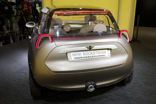 Mini Rocketman Concept and Clubman Hampton - Geneva Auto Show featured image large thumb2