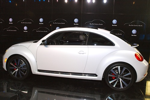 "2011 New York Auto Show - 2012 Volkswagen ""21st Century"" Beetle featured image large thumb1"