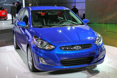 2012 Hyundai Accent - New York Auto Show featured image large thumb0