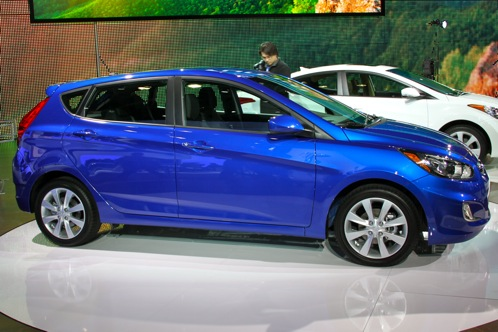 2012 Hyundai Accent - New York Auto Show featured image large thumb1