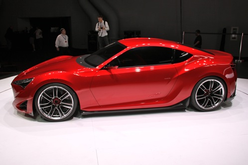 Scion FR-S Concept - New York Auto Show featured image large thumb1