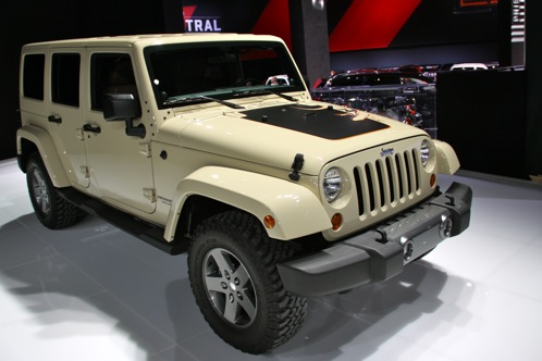 2011 Jeep Wrangler Mojave - New York Auto Show featured image large thumb0