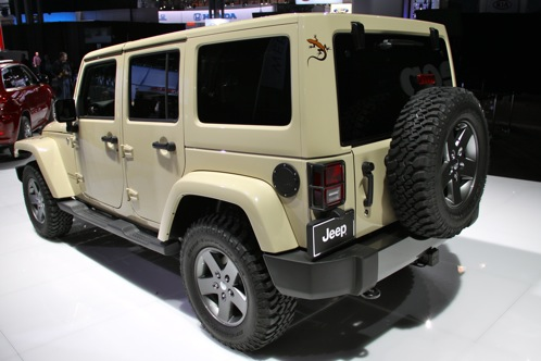 2011 Jeep Wrangler Mojave - New York Auto Show featured image large thumb2