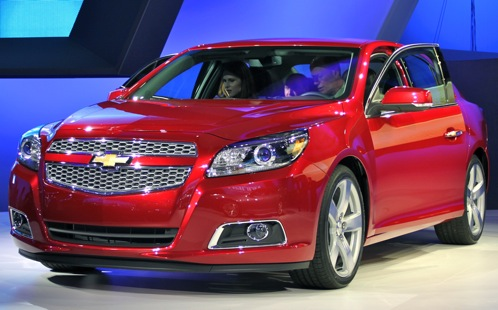 2013 Chevrolet Malibu - New York Auto Show featured image large thumb0