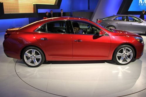 2013 Chevrolet Malibu - New York Auto Show featured image large thumb1