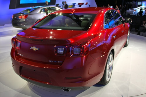 2013 Chevrolet Malibu - New York Auto Show featured image large thumb2