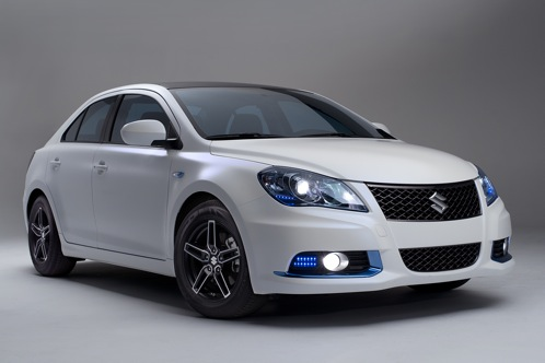 Suzuki Kizashi EcoCharge and Apex Concepts - New York Auto Show featured image large thumb0