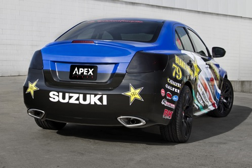 Suzuki Kizashi EcoCharge and Apex Concepts - New York Auto Show featured image large thumb4