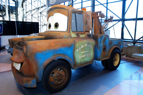 Cars 2 Characters Make a New York Appearance - New York Auto Show featured image large thumb0