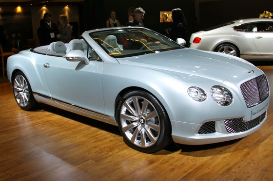 2012 Bentley Continental GTC - LA Auto Show - Image Gallery