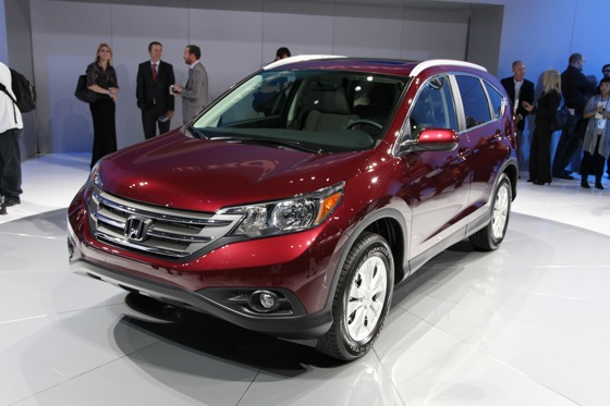 2012 Honda CR-V Delivers Fuel Economy and Performance Improvements - LA Auto Show featured image large thumb0