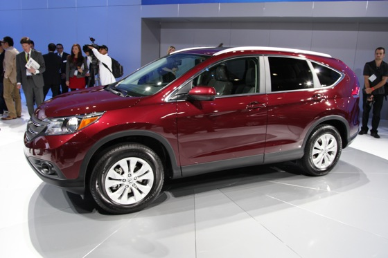 2012 Honda CR-V Delivers Fuel Economy and Performance Improvements - LA Auto Show featured image large thumb1