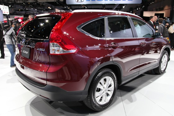 2012 Honda CR-V Delivers Fuel Economy and Performance Improvements - LA Auto Show featured image large thumb4