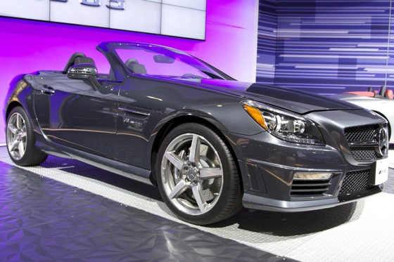 2012 Mercedes SLK55 AMG - LA Auto Show featured image large thumb0
