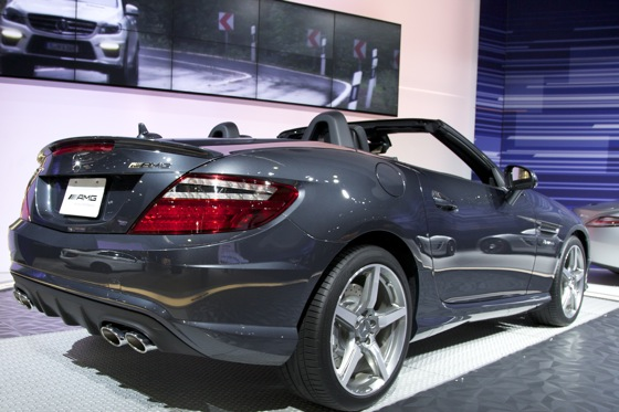2012 Mercedes SLK55 AMG - LA Auto Show featured image large thumb1