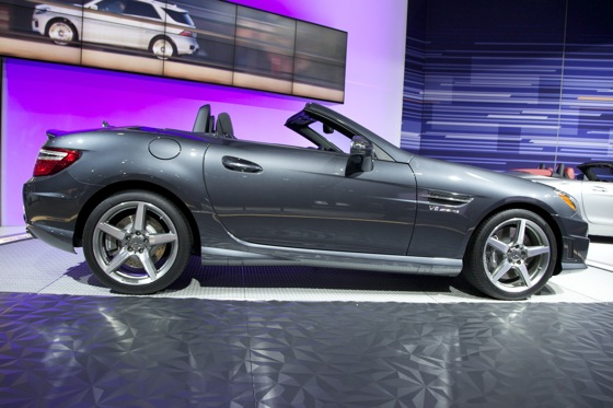 2012 Mercedes SLK55 AMG - LA Auto Show featured image large thumb2