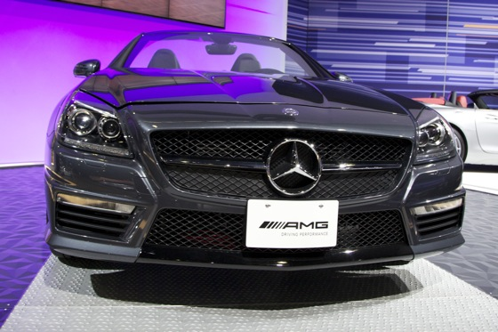 2012 Mercedes SLK55 AMG - LA Auto Show featured image large thumb3