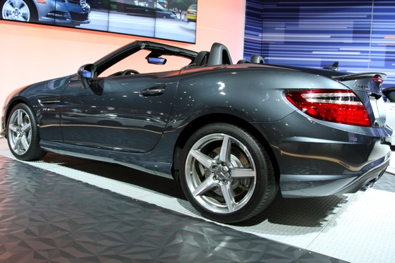 2012 Mercedes SLK55 AMG - LA Auto Show featured image large thumb5