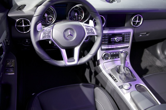 2012 Mercedes SLK55 AMG - LA Auto Show featured image large thumb6