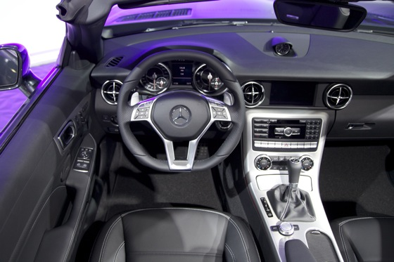 2012 Mercedes SLK55 AMG - LA Auto Show featured image large thumb8