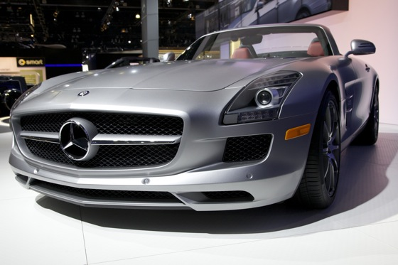 2012 Mercedes SLS AMG Roadster - LA Auto Show featured image large thumb0
