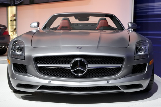 2012 Mercedes SLS AMG Roadster - LA Auto Show featured image large thumb1