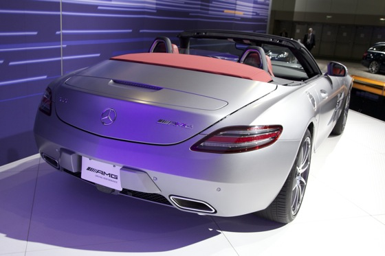 2012 Mercedes SLS AMG Roadster - LA Auto Show featured image large thumb2
