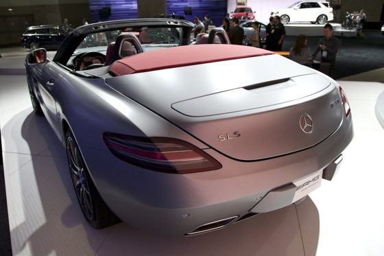 2012 Mercedes SLS AMG Roadster - LA Auto Show featured image large thumb3