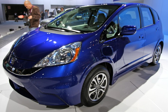 Honda's All-Electric Fit Unveiled, Available For Lease in 2012 - LA Auto Show