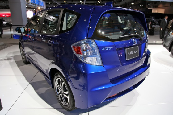 Honda's All-Electric Fit Unveiled, Available For Lease in 2012 - LA Auto Show featured image large thumb2