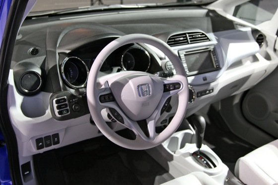 Honda's All-Electric Fit Unveiled, Available For Lease in 2012 - LA Auto Show featured image large thumb5