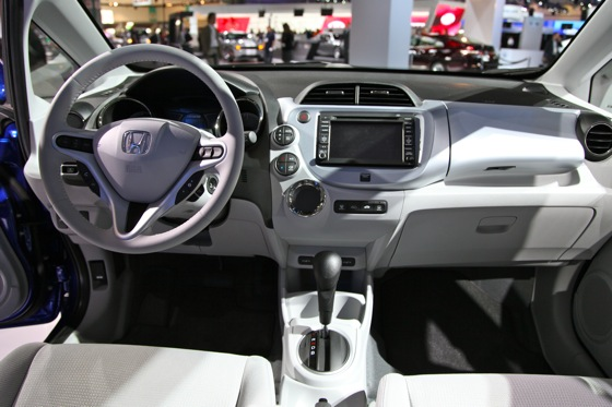 Honda's All-Electric Fit Unveiled, Available For Lease in 2012 - LA Auto Show featured image large thumb8