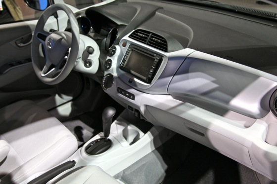 Honda's All-Electric Fit Unveiled, Available For Lease in 2012 - LA Auto Show featured image large thumb9