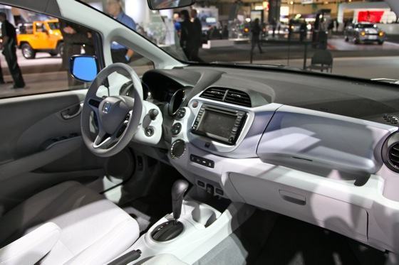 Honda's All-Electric Fit Unveiled, Available For Lease in 2012 - LA Auto Show featured image large thumb10