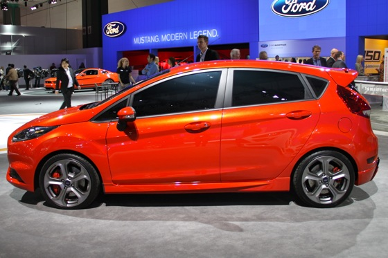 Ford Fiesta ST Concept - LA Auto Show featured image large thumb2