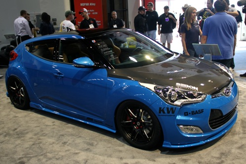 PM Lifestyle Customizes Hyundai Veloster - SEMA Auto Show featured image large thumb0