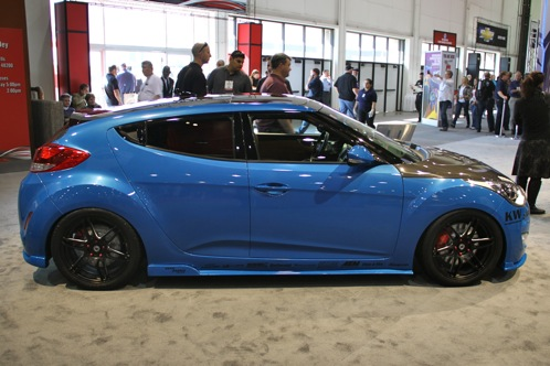 PM Lifestyle Customizes Hyundai Veloster - SEMA Auto Show featured image large thumb1