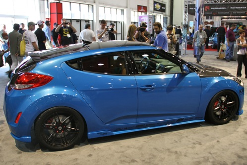 PM Lifestyle Customizes Hyundai Veloster - SEMA Auto Show featured image large thumb2