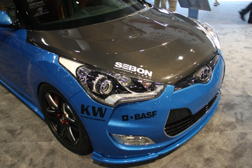 PM Lifestyle Customizes Hyundai Veloster - SEMA Auto Show featured image large thumb6