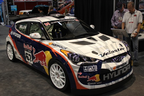 Rhys Millen Debuts New Rally Cross Veloster - SEMA Auto Show featured image large thumb0
