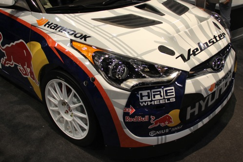 Rhys Millen Debuts New Rally Cross Veloster - SEMA Auto Show featured image large thumb1