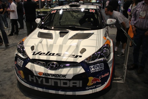 Rhys Millen Debuts New Rally Cross Veloster - SEMA Auto Show featured image large thumb2