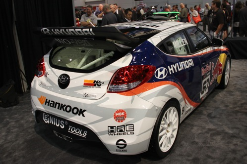 Rhys Millen Debuts New Rally Cross Veloster - SEMA Auto Show featured image large thumb4