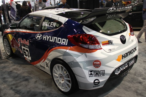 Rhys Millen Debuts New Rally Cross Veloster - SEMA Auto Show featured image large thumb6