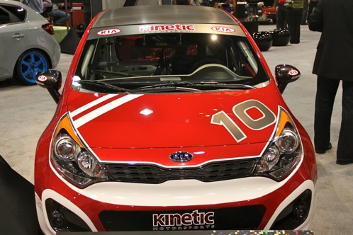 Kia Race Car and Surfer Themed Rios - SEMA Auto Show featured image large thumb3