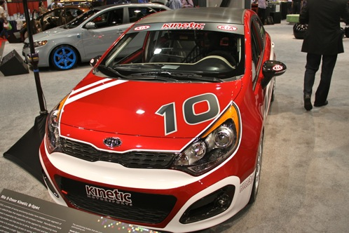 Kia Race Car and Surfer Themed Rios - SEMA Auto Show featured image large thumb5
