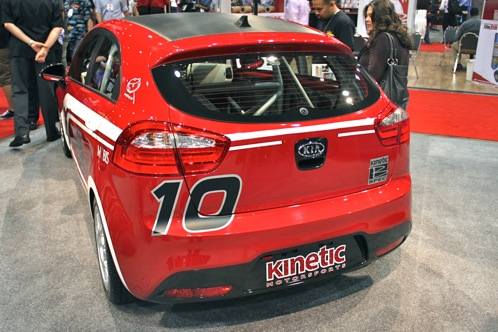 Kia Race Car and Surfer Themed Rios - SEMA Auto Show featured image large thumb7