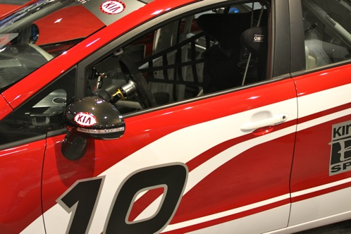 Kia Race Car and Surfer Themed Rios - SEMA Auto Show featured image large thumb9
